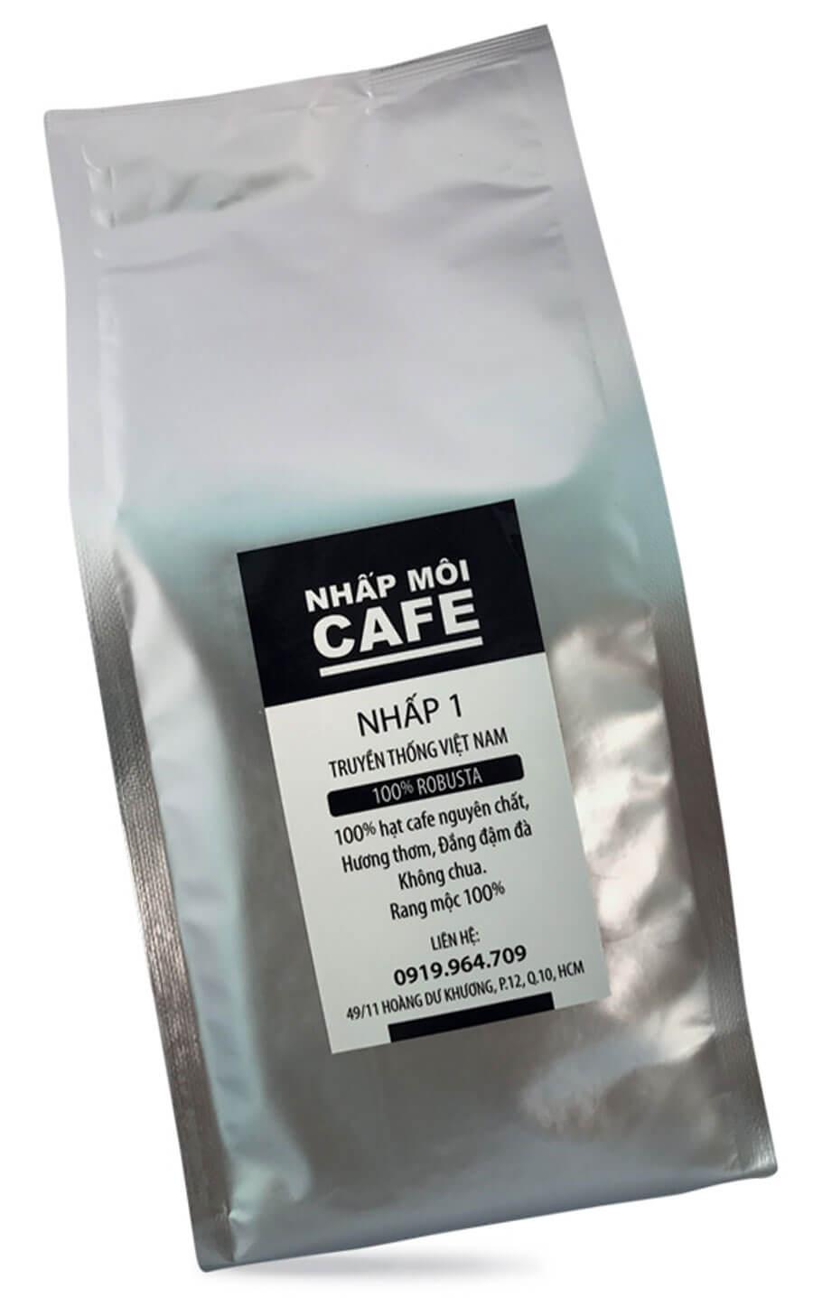 mua cà phê hạt rang nguyên chật gu việt hạt