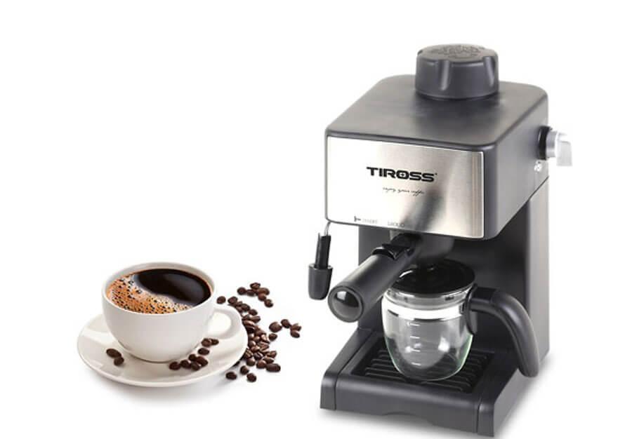 máy pha cà phê Espresso Tiross TS 621 giá dưới 1 triệu